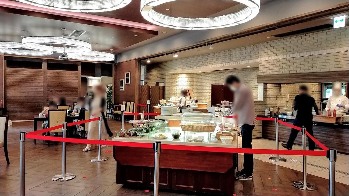 RVパーク ホテル・フロラシオン那須 車中泊 キャンピングトレーラー シーズー ペット 朝食バイキング