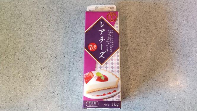 牛乳パックのような容器のデザート