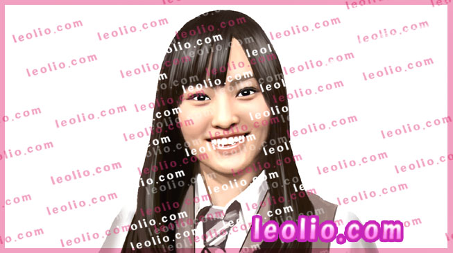 山本彩(NMB48) の 似顔絵イラスト
