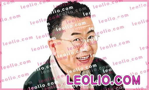 桂文珍 の 似顔絵イラスト