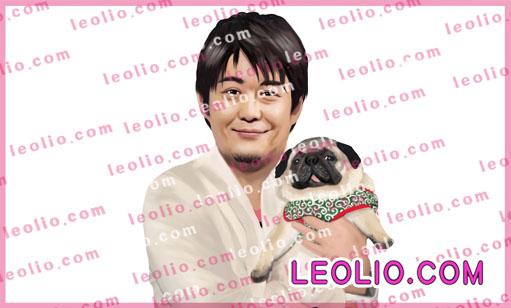 坂上忍 犬  画像 イラスト