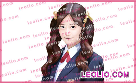 今田美桜  の 似顔絵イラスト 写真