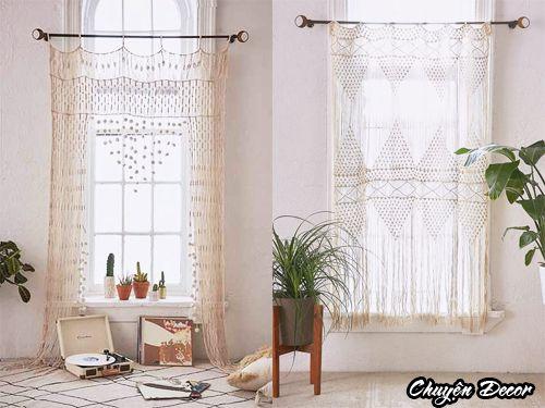 ウールのカーテン