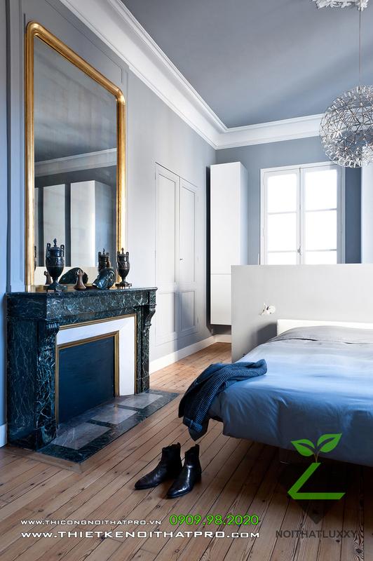アパートデザインの新しいクラシックスタイルとモダンスタイルの絶妙なブレンド
