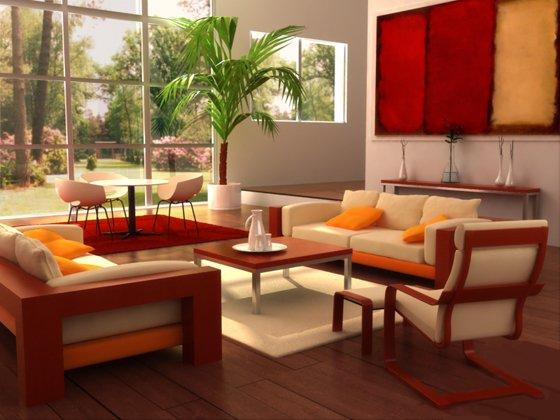 正方形のリビングルームは住宅所有者の理想的な選択肢です。