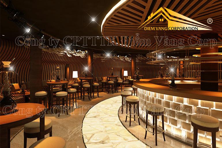 素敵なレストランのインテリアデザイン3