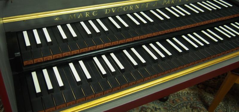 チェンバロ鍵盤