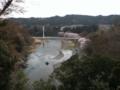 青梅市立美術館からみた多摩川