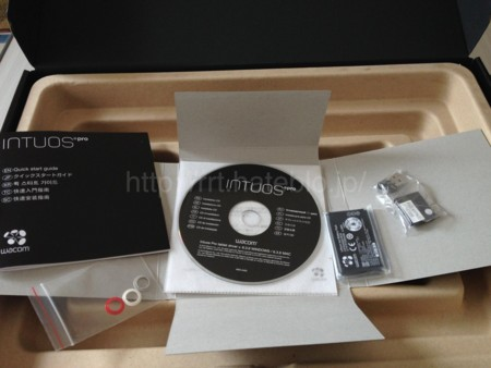 ワイヤレスキットと説明書とCD-ROM