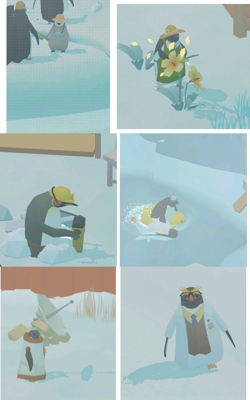 島 ペンギン ワザ の 裏