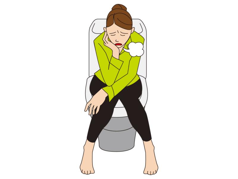 めまい、気持ち悪い、疲労感、月経失調、頻尿若しくは尿が出ない