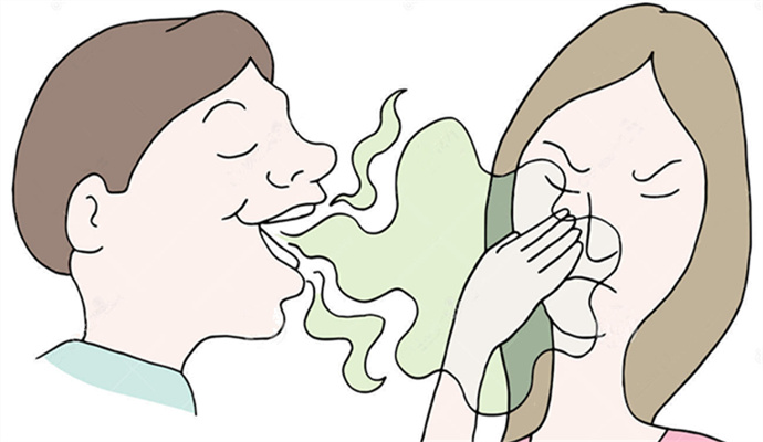 口臭は「湿+熱」が原因