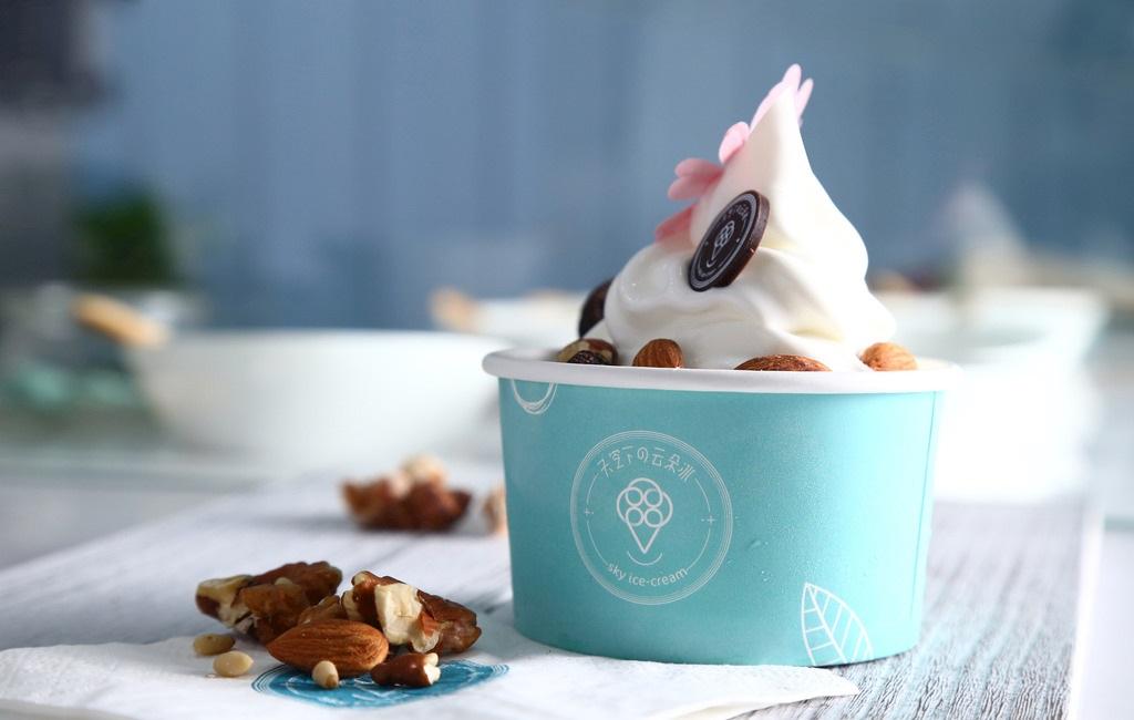 体内を冷やすアイスクリーム!