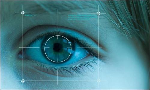 虹彩を見て内臓の状態を判断するのは、中医学の眼診