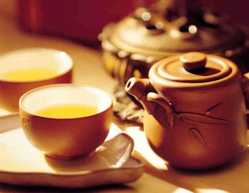 お灸してから3日以内はお茶が禁止、お灸の効果が落ちるから。