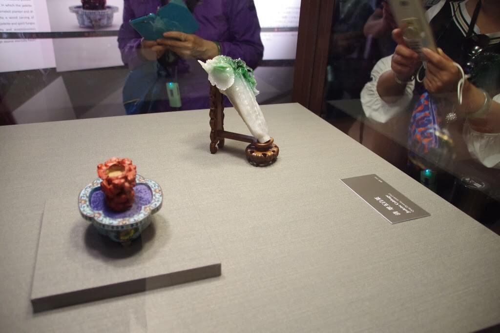 台北故宮博物院の有名な白菜!