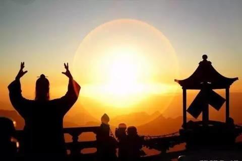 人間の気は太陽のエネルギーと同じ