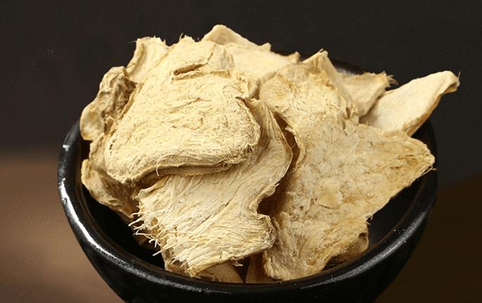 乾姜(かんきょう):胃腸を温めて食欲を維持させる生薬