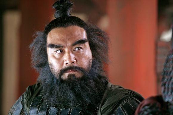 中国ドラマに出ている張飛のイメージと違って、本物はハンサム