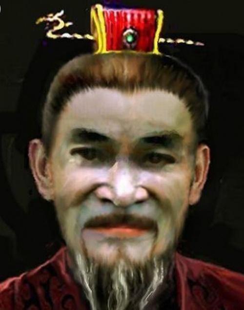 曹操のイメージ画像(ハンサムではないけど、普通のレベル)