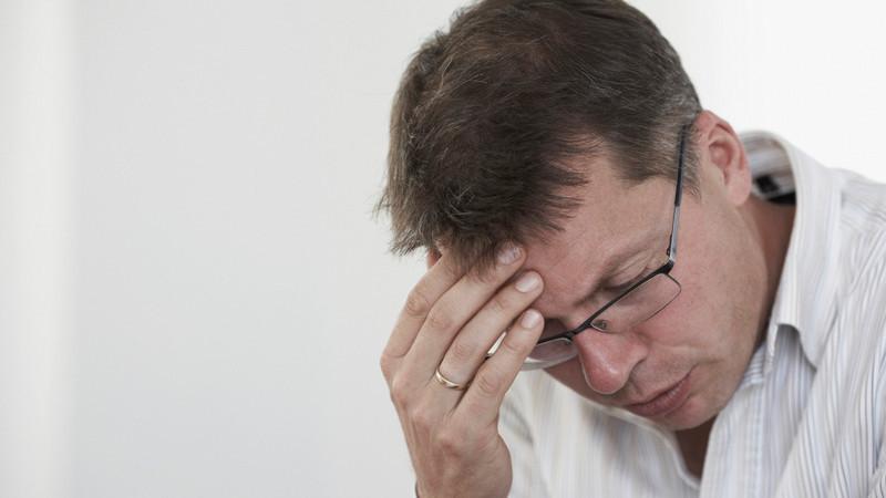 帯状疱疹の男性は、痛みが著しくて我慢できないのが多い