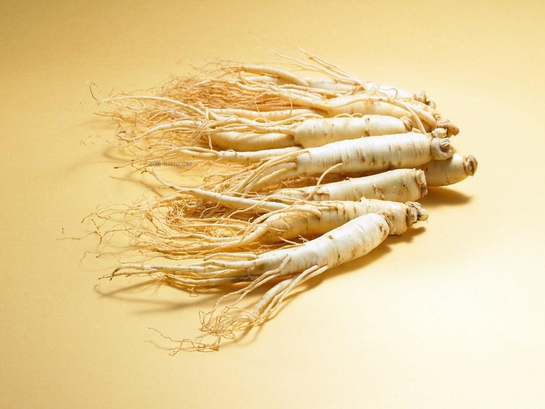 朝鮮人参:気を補う作用が強くて、滋養強壮剤としても有名な生薬。