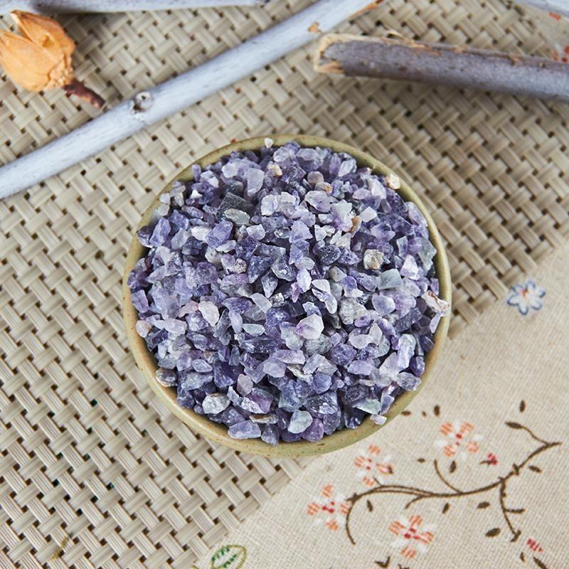 鉱物類の生薬:紫石英の画像