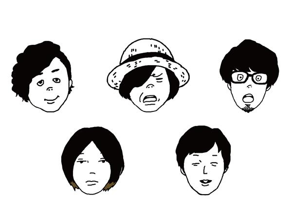 ロックバンド・キュウソネコカミのアーティスト写真