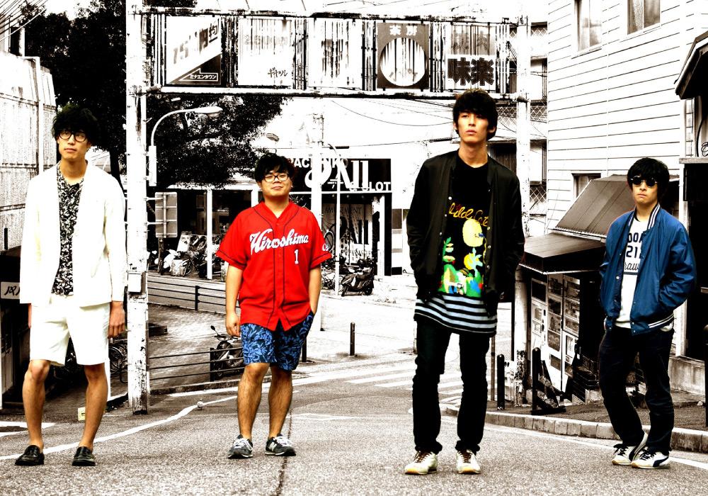 ロックバンド・パノラマパナマタウンのアーティスト写真