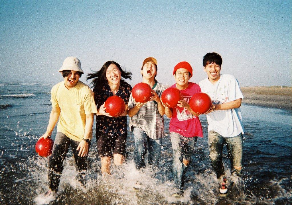 ロックバンド・never young beachのアーティスト写真