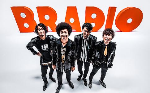 ロックバンド・BRADIOのアー写