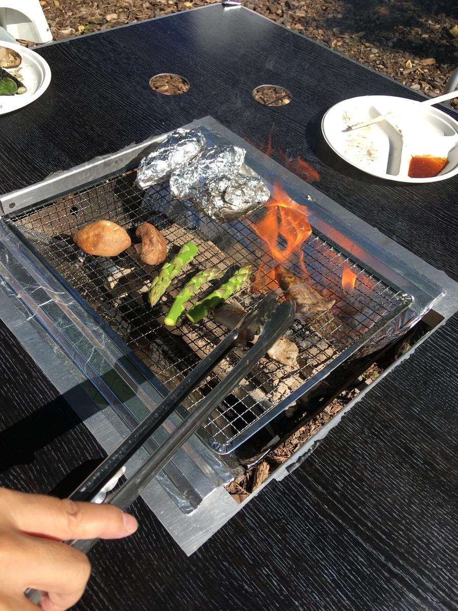 手ぶら公園BBQ