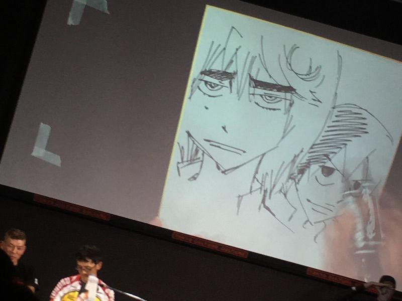 葦木場&悠人ナマ描き@ゆるペダルナイト