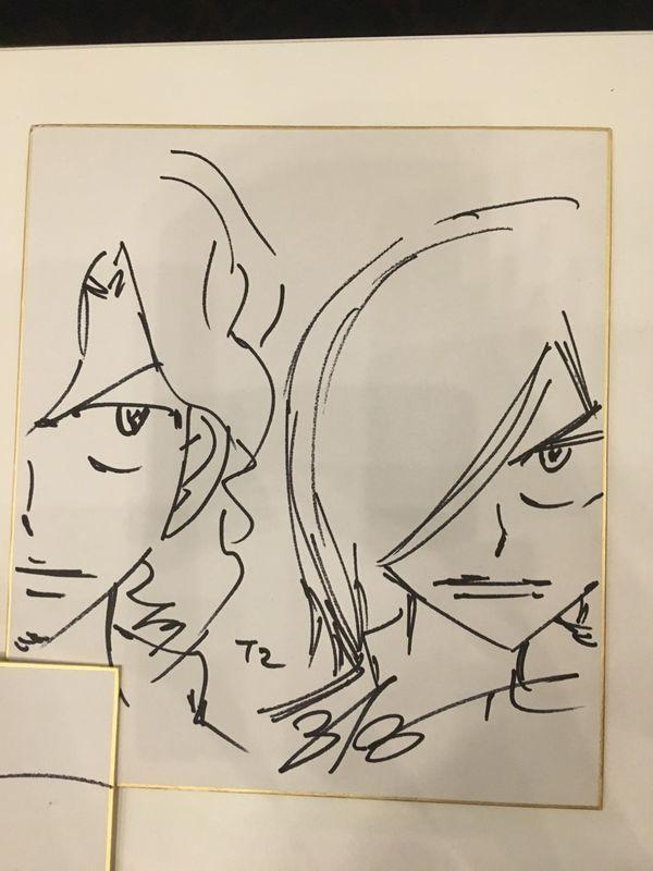 T2/手嶋&青八木 ペダルナイト15 昼の部 キャラ生描き