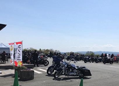 ツーリング アメリカンバイク