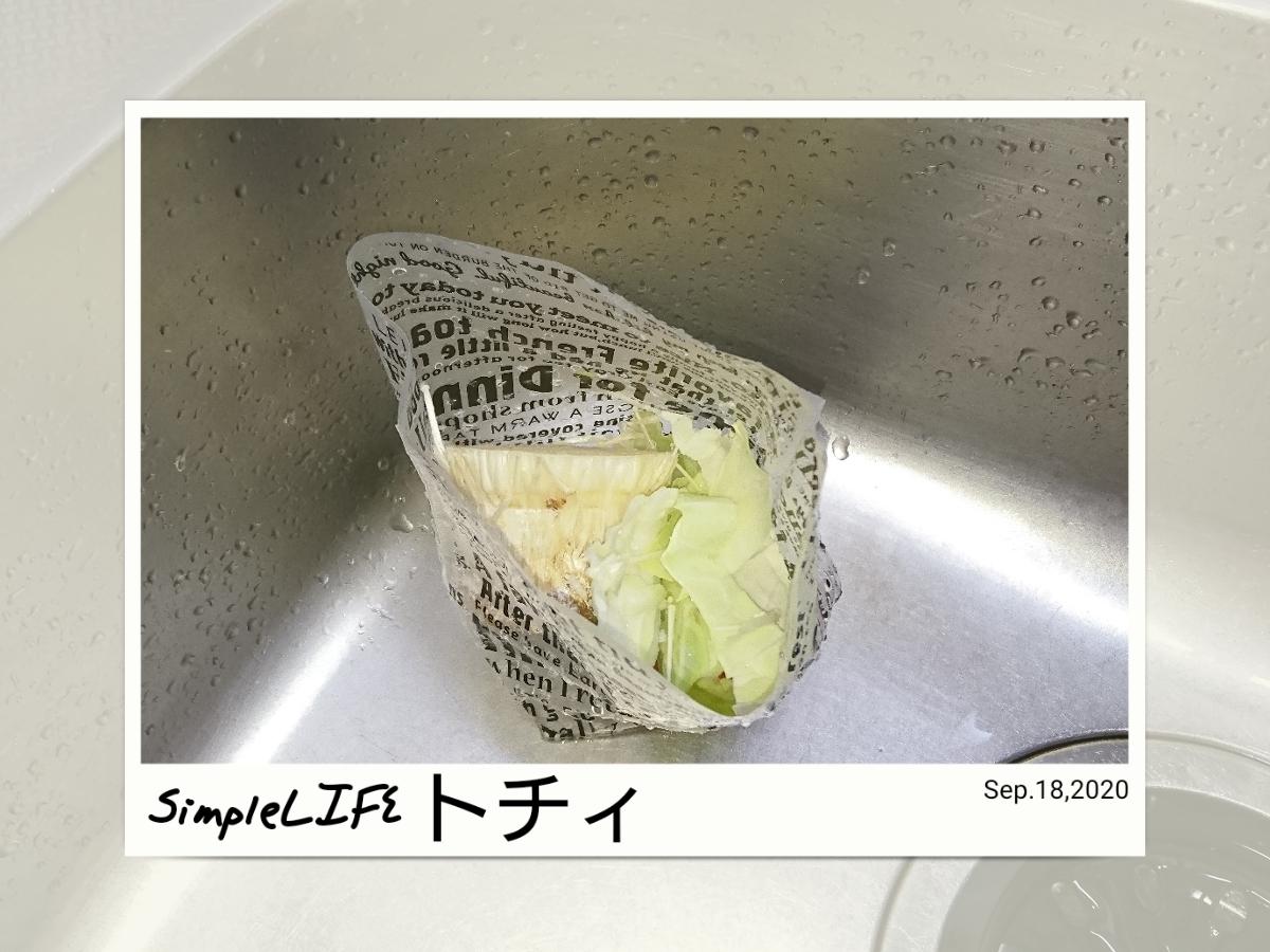 自立型 水切りゴミ袋