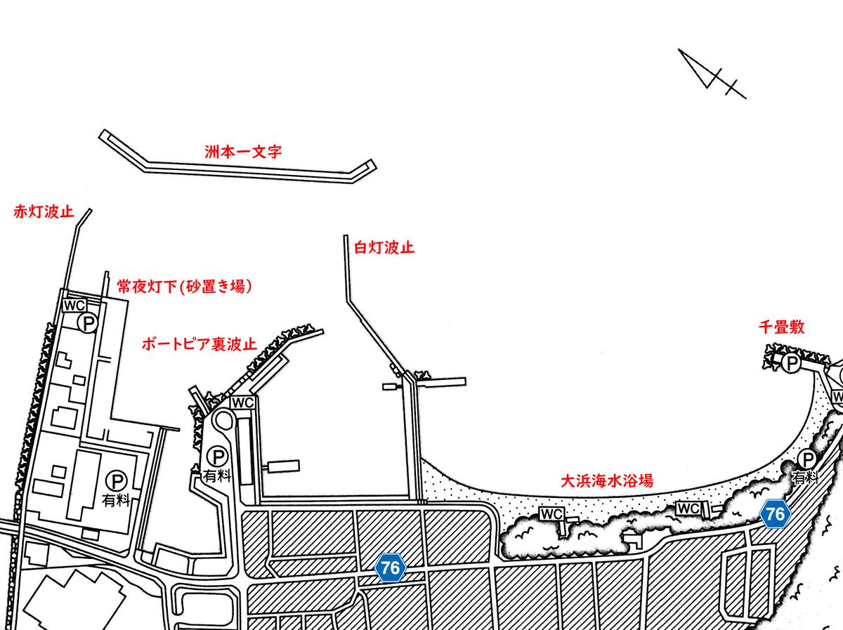 「洲本港の釣り場」イメージ