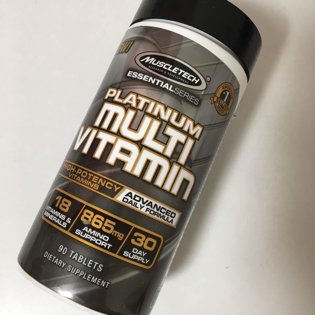 マッスルテックマルチビタミンの画像