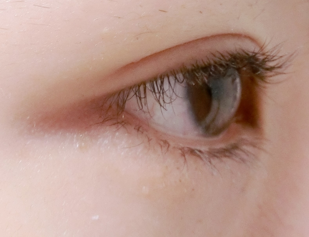 まつ毛パーマ4週間目すっぴん横からの目の画像