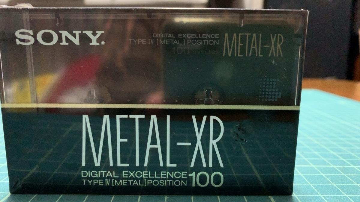 SONY METAL XR