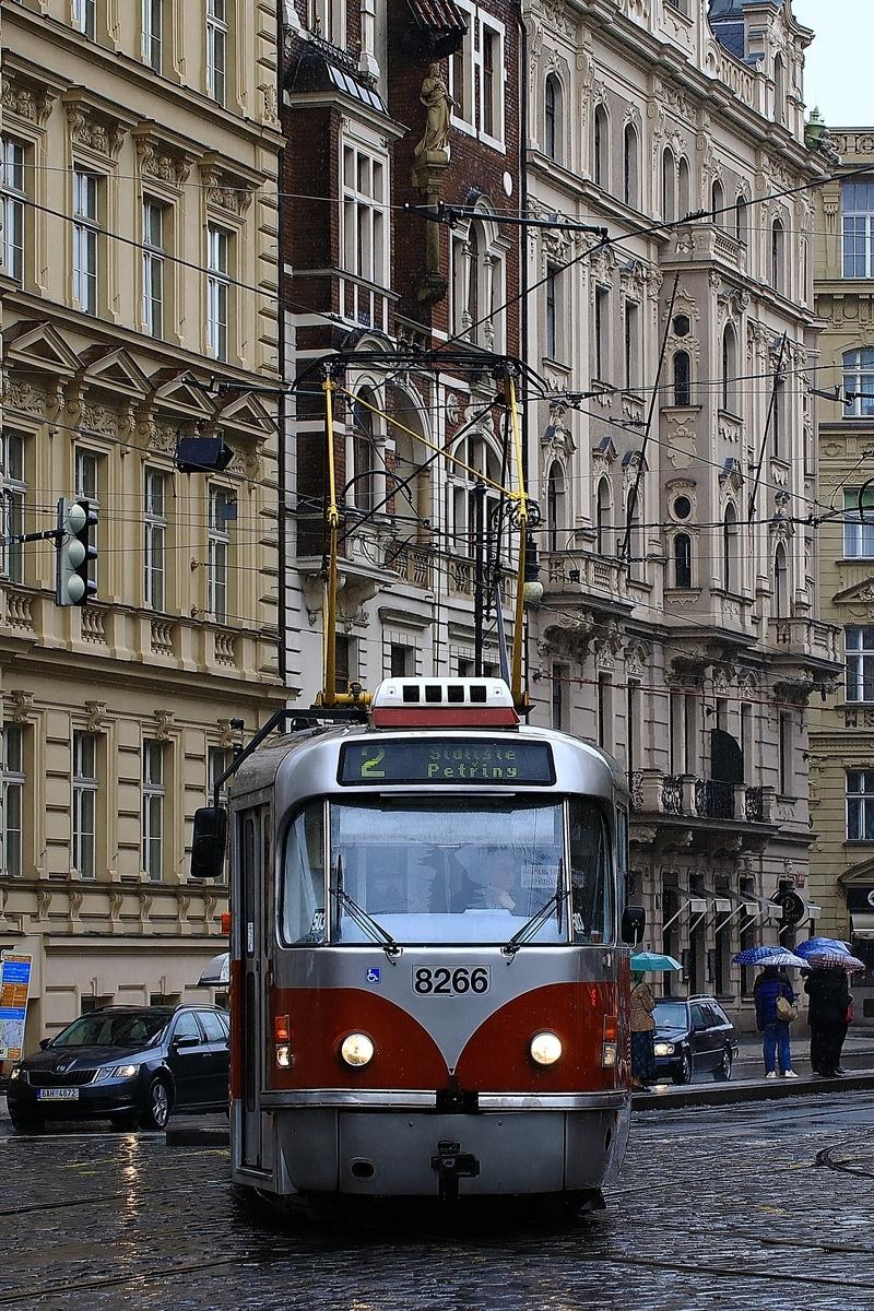 Praha Tram Tatra T3