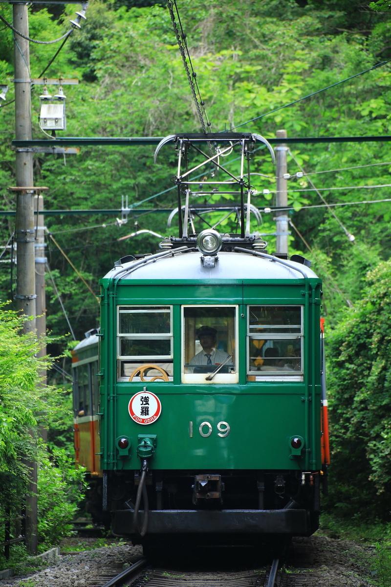 箱根登山鉄道モハ2形109号