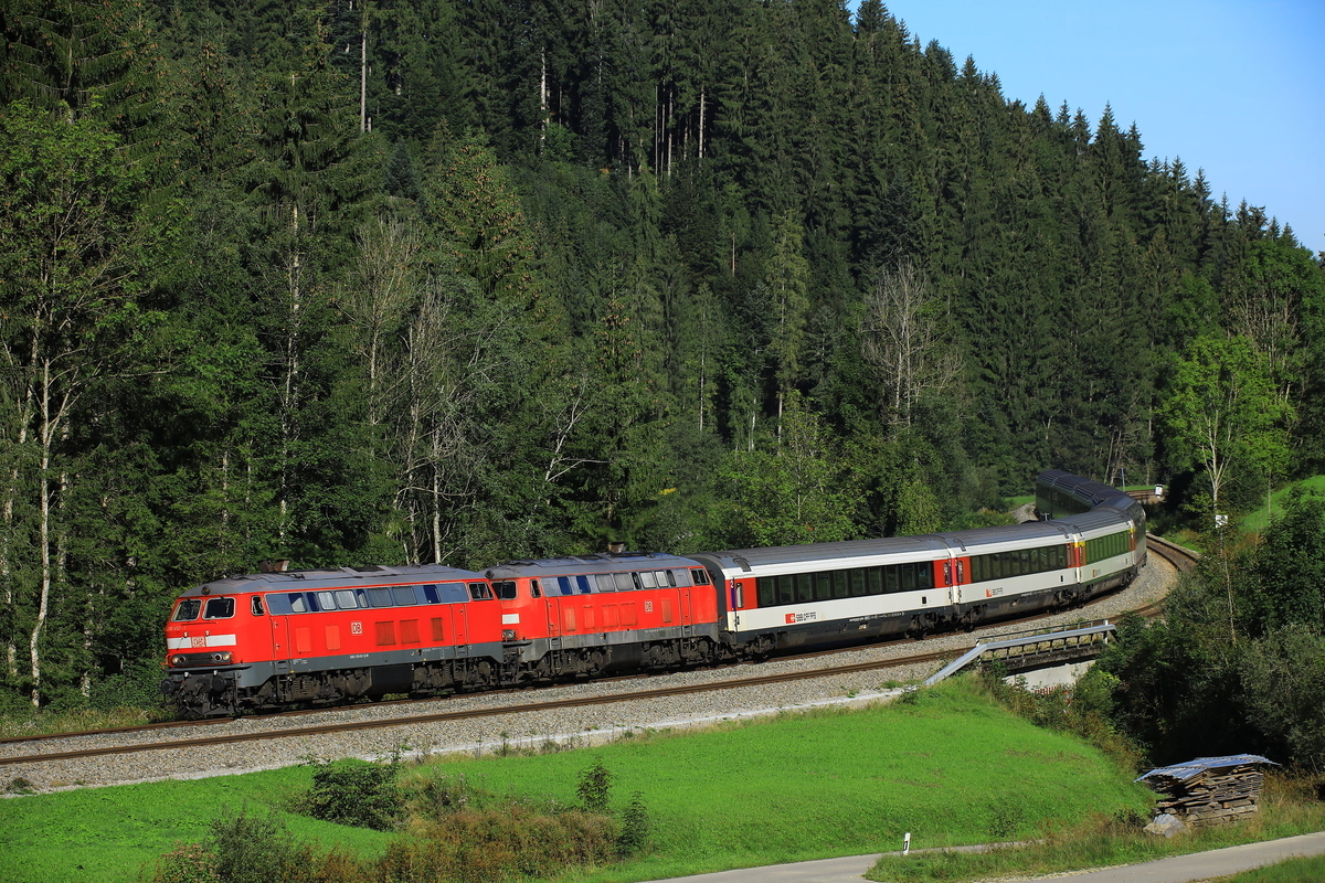 DB Br218 EC196 Oberstaufen