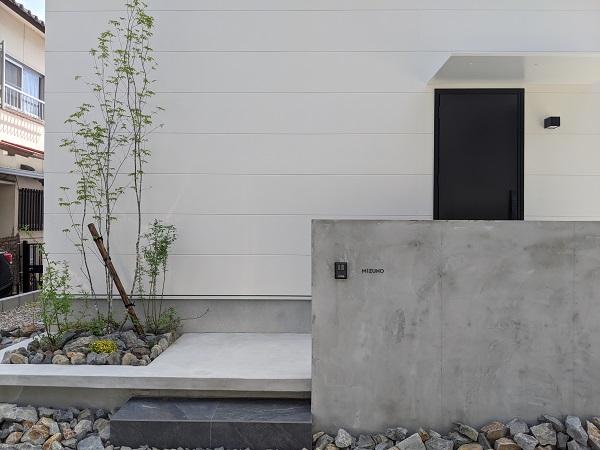 名古屋 モルタル壁