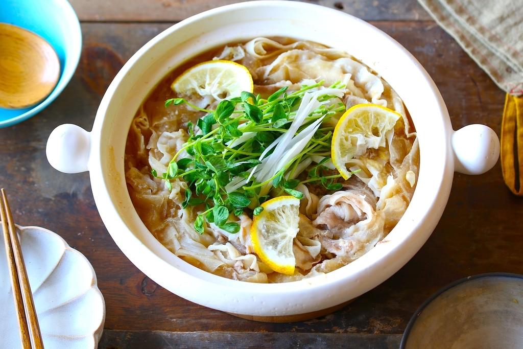 白菜 豚バラ 鍋 レシピ