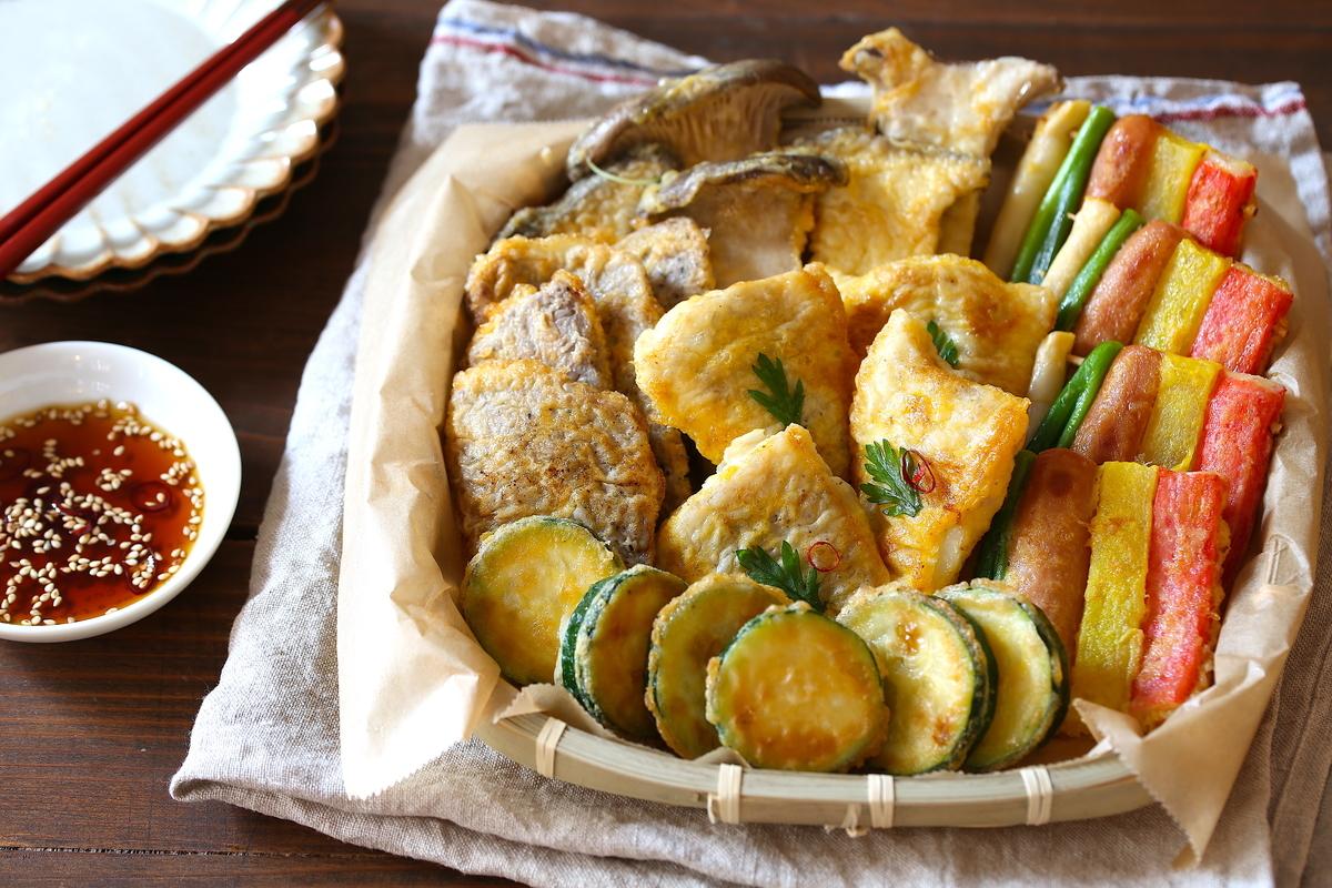 中途半端に余った食材の救世主…!小麦粉と卵をつけて焼く韓国料理 ...