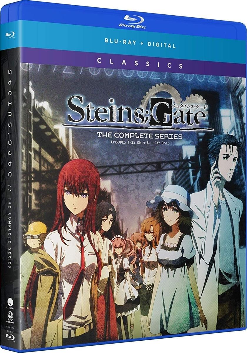 『STEINS;GATE コンプリート Blu-ray BOX スタンダードエディション』KADOKAWA メディアファクトリー、2018年