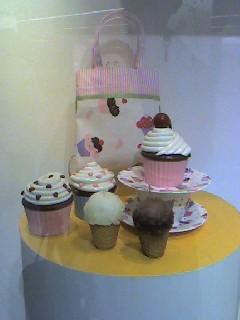 ケーキ型小物入れ