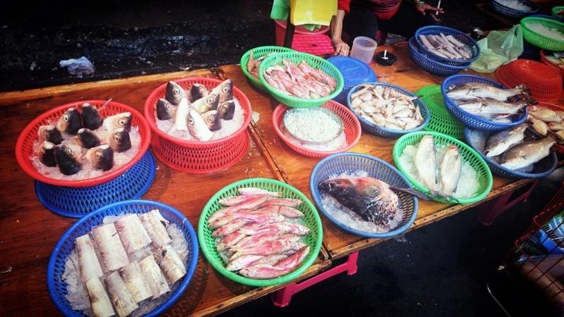 台湾文化人情味満載な台湾市場1