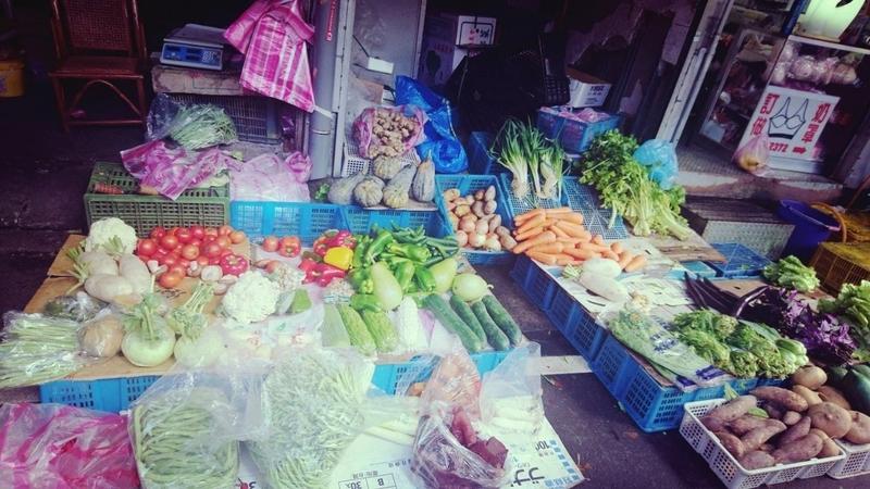 台湾文化人情味満載な台湾市場2